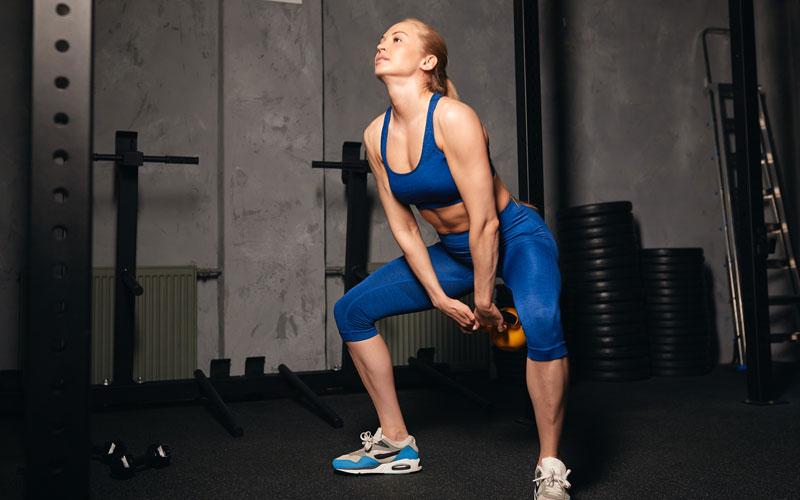 Kettlebell Swings – neue Reize für das Gesäß